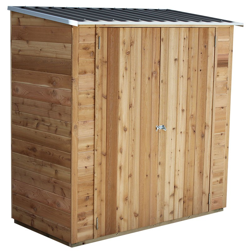 Birch Timber Shed