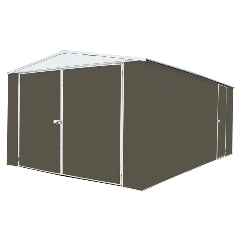 Absco Utility Garden Shed Grey